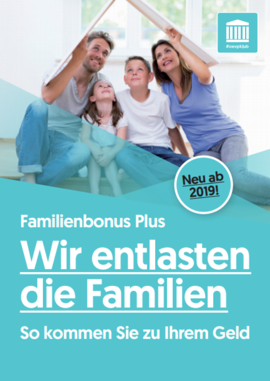 Broschuere FamilienBonus